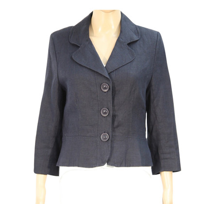 Hobbs Linen jacket in dark blue
