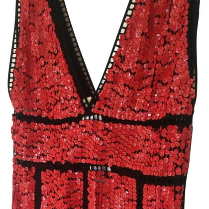 Emilio Pucci Red Sequin Dress