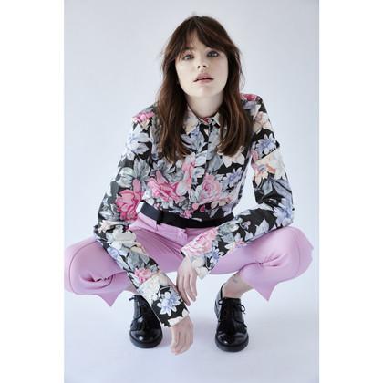 Céline Bluse mit floralem Muster