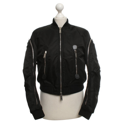 Dsquared2 Bomberjacke in Schwarz