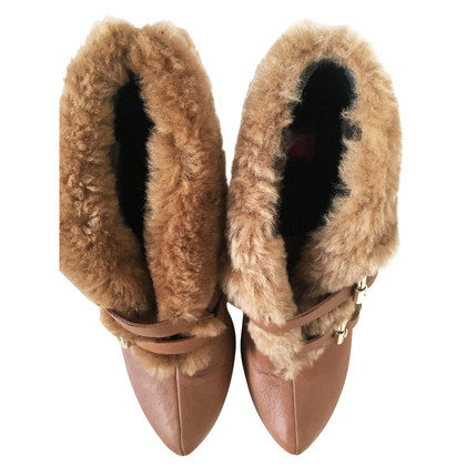 Ballin Boots with faux fur trim