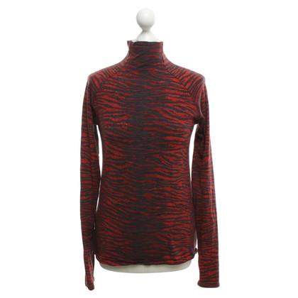 KENZO X H&M Longsleeve in red / black