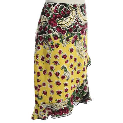Nanette Lepore Rock mit floralem Print