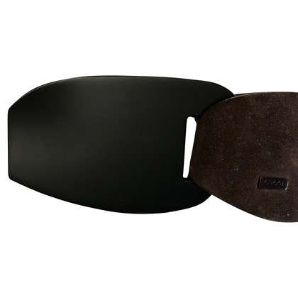 Gucci Suede belt in brown
