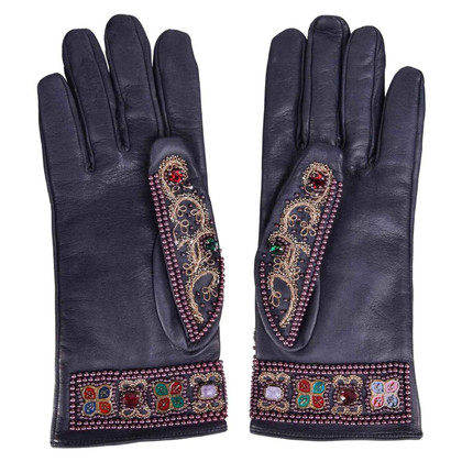 Dolce & Gabbana Gloves with embroidery