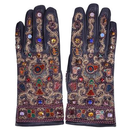 Dolce & Gabbana Handschuhe mit Stickerei