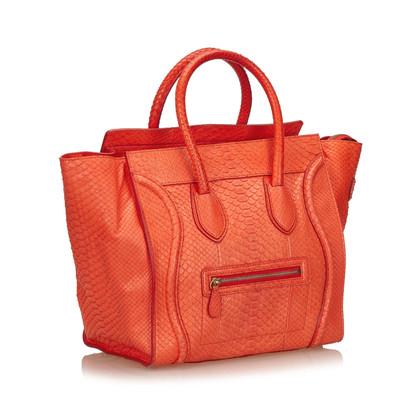 Céline Python Mini Luggage Bag