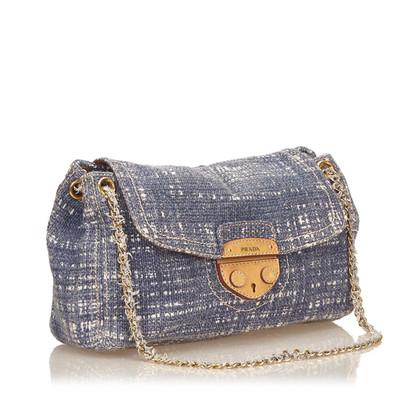 Prada Cotton Shoulder Bag