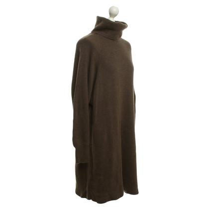Aida Barni Cashmere dress in brown