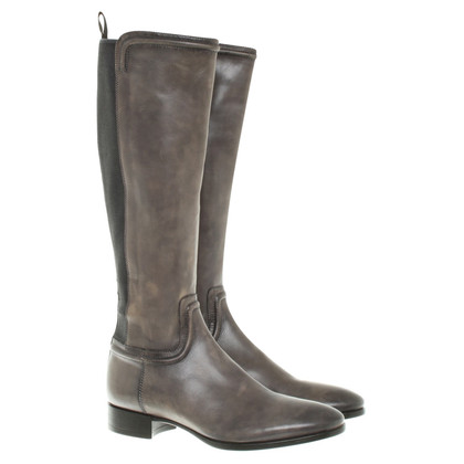 Santoni Boots in Gray