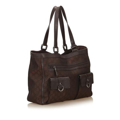 Gucci Jacquard Tote Bag