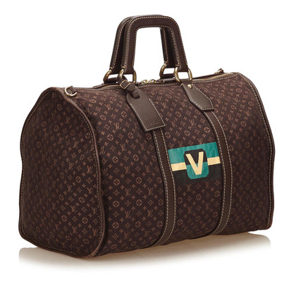 "Louis Vuitton ""Keepall 45 Mini Lin Initial"""