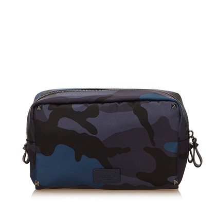 Valentino Cosmetic bag in camouflage look