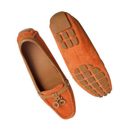 Louis Vuitton Loafers in orange