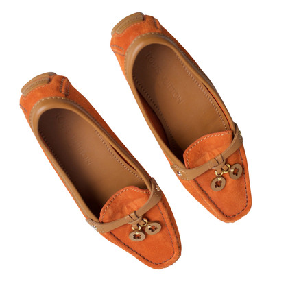 Louis Vuitton Loafer in Orange