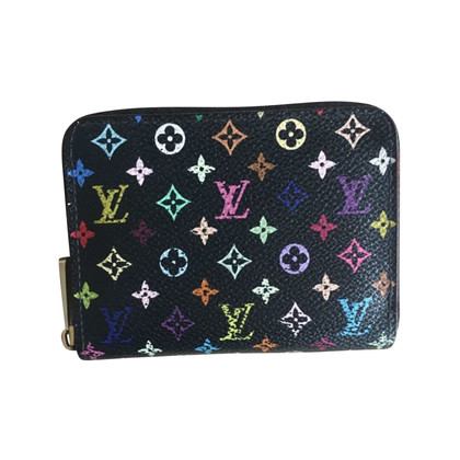 "Louis Vuitton ""Zippy Monogram Multicolore Noir"""