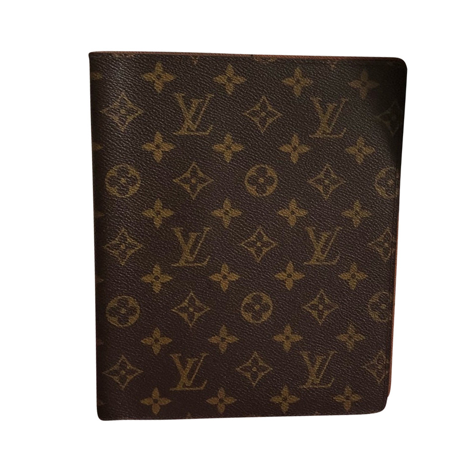 louis vuitton agenda h lle aus monogram canvas second hand louis vuitton agenda h lle aus. Black Bedroom Furniture Sets. Home Design Ideas