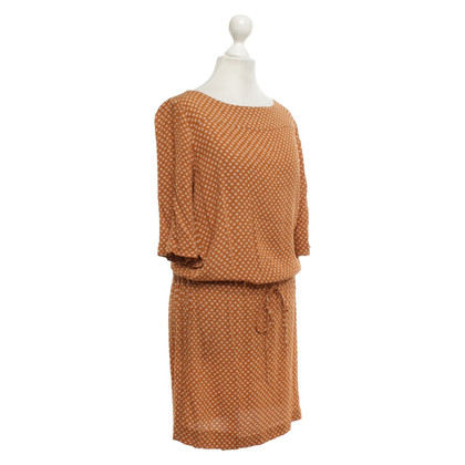 Hartford Dress in brown / cream
