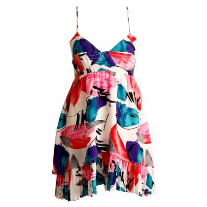 Andere merken Yumi Kim - witte jurk met gekleurde bloemen