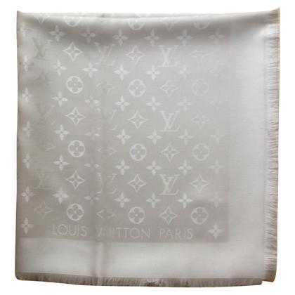 Louis Vuitton Monogram Beige Shawl