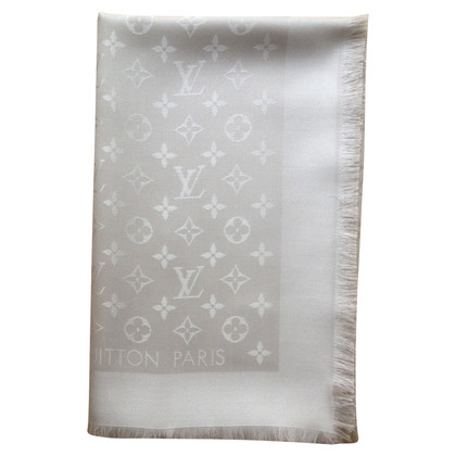 Louis Vuitton Monogram Beige Shawl
