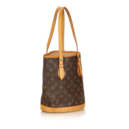 "Louis Vuitton ""Petit Bucket Bag Monogram Canvas"""