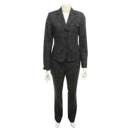 Riani Trouser suit with check pattern