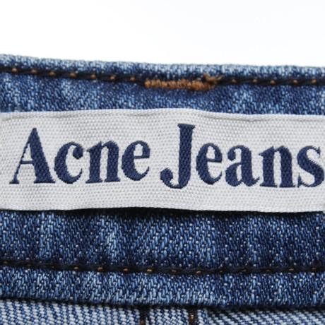 Steckdose Kostengünstig Spielraum Offiziellen Acne Jeans in Blau Blau nqq8Yl