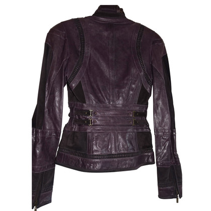 Just Cavalli Ledermix Jacket