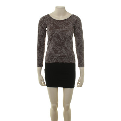 Wolford T-Shirt with metallic threads