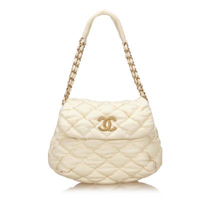 Chanel Cotton Bubble Shoulder Bag