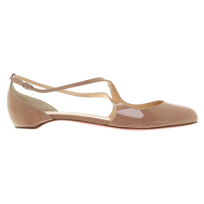 Christian Louboutin Ballerinas in Nude