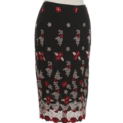 Karen Millen skirt with embroidery
