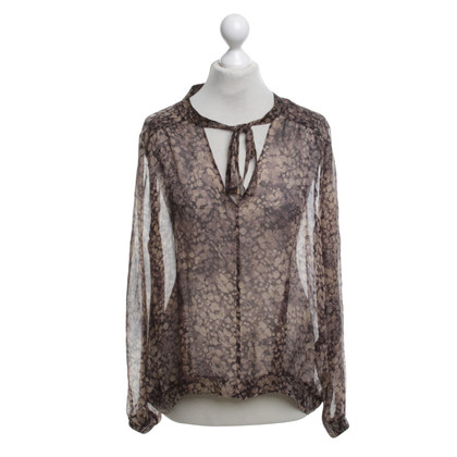 Reiss Bluse mit Muster
