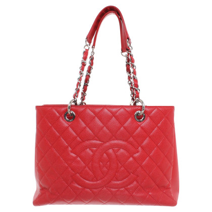 Chanel ''Grand Shopping Tote'' aus Kaviarleder