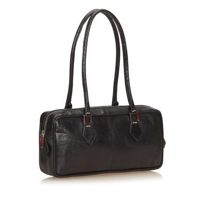 Valentino Shoulder bag made of lizard leather