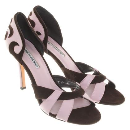 Manolo Blahnik pumps in Brown / Pink