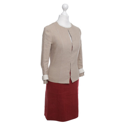 Plein Sud Costume in Red / Beige