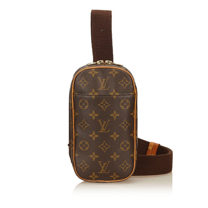"Louis Vuitton ""Koppeling aan de gang Monogram Canvas"""