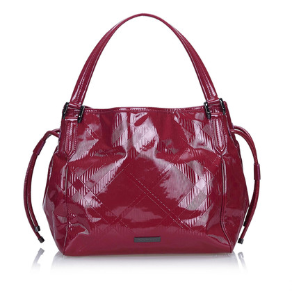 Burberry Patent leather Tote Bag