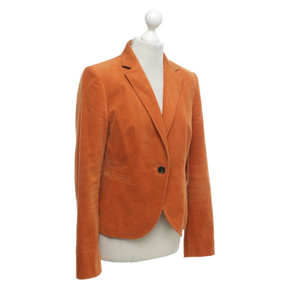 St. Emile Cord blazer in orange