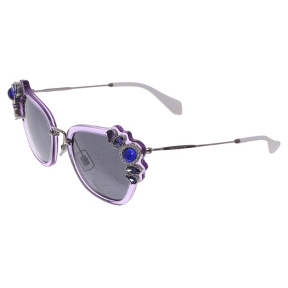 Miu Miu Sunglasses with gemstones
