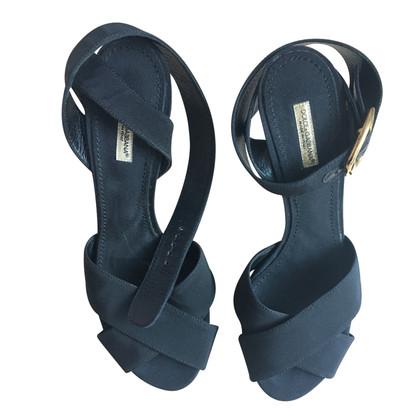 Dolce & Gabbana Dolce & Gabbana sandalen zwarten