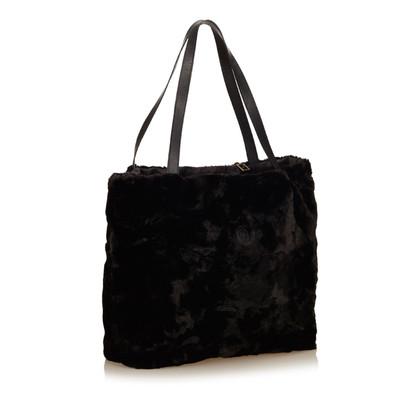 Fendi Tote Bag con pelliccia