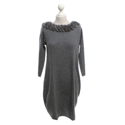 Princess goes Hollywood Cashmere dress in grey