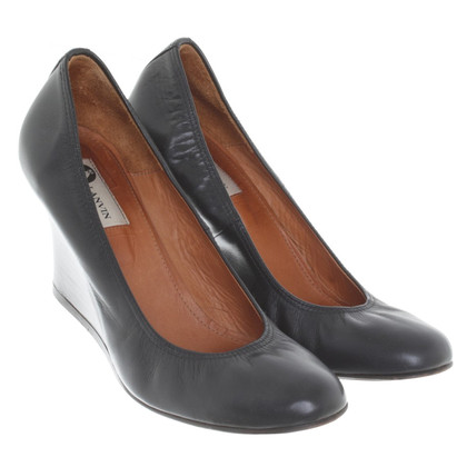 Lanvin pumps with wedge filler