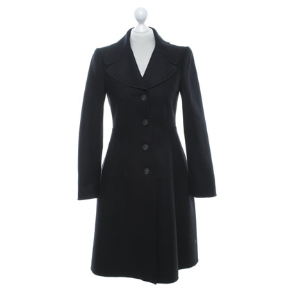 D&G Waisted coat in black