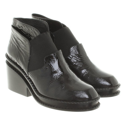 Robert Clergerie Ankle boots made of patent leather