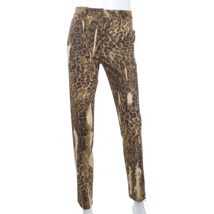 Christian Dior Jeans mit Animal-Print