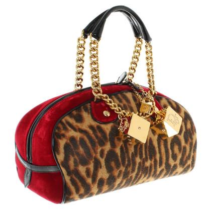 Christian Dior Handbag with animal print